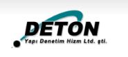 Deton Yapı Denetim Hizmetleri Ltd..Ştiİ.